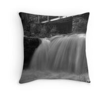 Bridge & Waterfall Throw Pillow