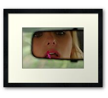 I am ready, are they ? Framed Print