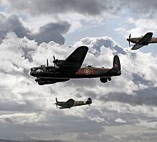 Battle of Britain Memorial Flight by sandmartin