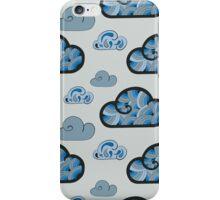 Cloudy pattern iPhone Case/Skin