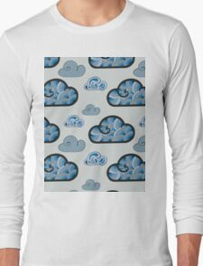 Cloudy pattern T-Shirt
