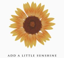 Add a little sunshine by jwsparkes