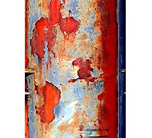 Beauty of damage abstract Photographic Print