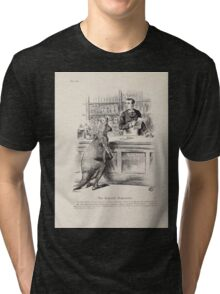 Cartoons by Sir John Tenniel selected from the pages of Punch 1901 0190 The Imperial Dispensary Tri-blend T-Shirt