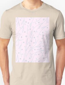 Seamless floral pattern Unisex T-Shirt
