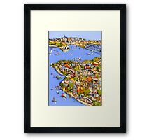 A touch of Sydney Framed Print