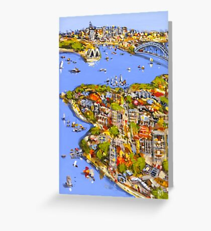 A touch of Sydney Greeting Card