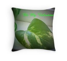 Variegated Valentine Throw Pillow