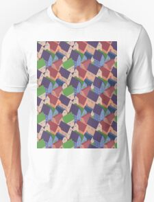 Abstract houses seamless pattern Unisex T-Shirt