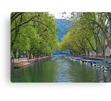 Annecy Canvas Print