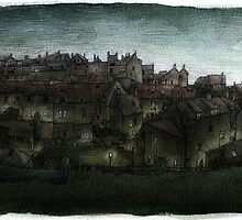 Robin Hoods Bay by Simon Yeomans