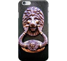 Knock on wood iPhone Case/Skin
