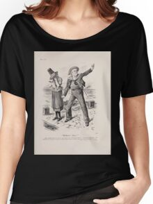 Cartoons by Sir John Tenniel selected from the pages of Punch 1901 0147 William Ahoy Women's Relaxed Fit T-Shirt