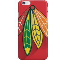 Chicago Blackhawks Minimalist Print iPhone Case/Skin