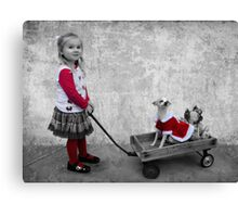 Along For the Ride Canvas Print