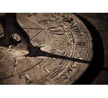 The Clock Struck Twelve Photographic Print