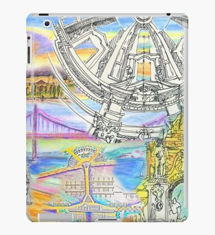 Lisbon sketches iPad Case/Skin