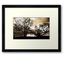 In the Bleak Mid Winter Framed Print