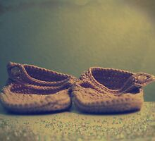 .little pink booties. by Angel Warda