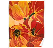 A Beautiful Bouquet - Tulips Poster