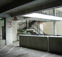 3rd Floor Parking Garage by Robert Baker