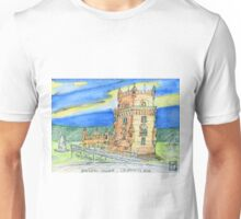 Belém Tower skecth on canvas Unisex T-Shirt