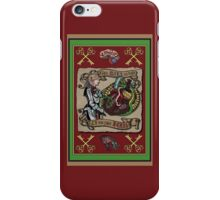 The Mind is the Key to the Heart (crimson)  iPhone Case/Skin
