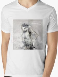 No Title 45 Mens V-Neck T-Shirt