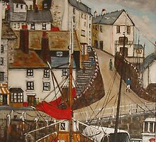 """Rita"" Brixham Harbour by Woodie"