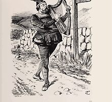 Cartoons by Sir John Tenniel selected from the pages of Punch 1901 0129 The Minstrel Boy by wetdryvac