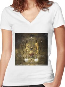 No Title 40 Women's Fitted V-Neck T-Shirt
