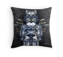 Warrior II Throw Pillow