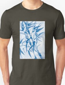 Tropical blue bamboo T-Shirt