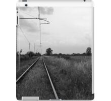 train rails iPad Case/Skin