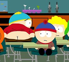 Soutpark -Cartman by Sam Noeninckx
