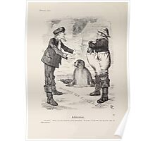 Cartoons by Sir John Tenniel selected from the pages of Punch 1901 0106 Arbitration Poster