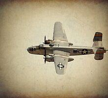 B - 25J Bomber by golfnut10