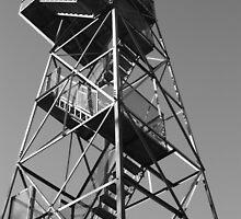 Watchtower overlooking the Mississippi by McKinley Bradford