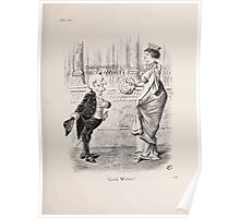 Cartoons by Sir John Tenniel selected from the pages of Punch 1901 0187 Good Wishes Poster