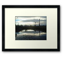 Cold Afternoon Framed Print
