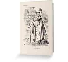Cartoons by Sir John Tenniel selected from the pages of Punch 1901 0078 Too Late Greeting Card