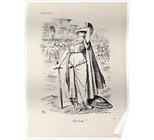 Cartoons by Sir John Tenniel selected from the pages of Punch 1901 0078 Too Late Poster