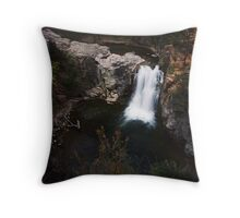 Redwood Falls city park waterfalls Throw Pillow