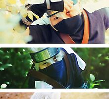 Real Kid Kakashi Collage by EddieER