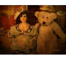 The odd couple - Lost in the past Photographic Print