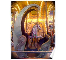 Carousel Chair Poster