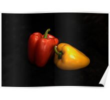TWO PEPPERS Poster
