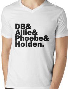 The Caulfields Mens V-Neck T-Shirt