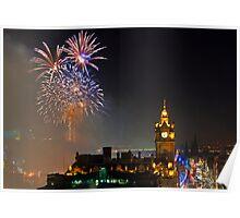 Homecoming Scotland Fireworks, Edinburgh Poster