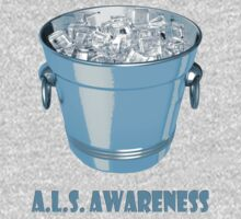 Ice bucket challenge A.L.S. Awareness One Piece - Long Sleeve